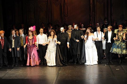 Fantom opery zahájil 2. sezónu se všemi alternacemi.