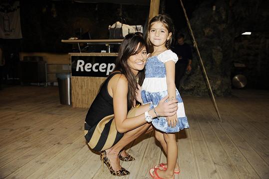Petra s dcerou Adriankou