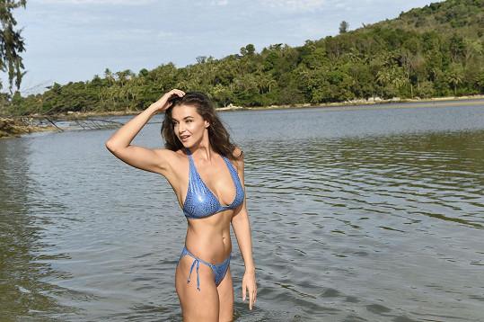 Kubelková fotila v Thajsku profilové fotky pro Českou Miss.