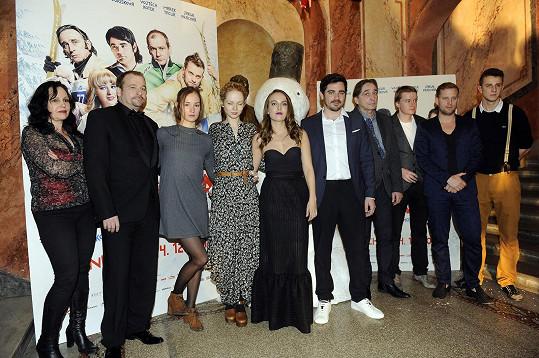 Herci z Padesátky se svým režisérem