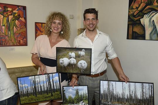 Katka si neomylně vybrala fotografii ovcí.