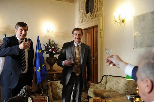Václav Vydra, Jan Antonín Duchoslav a fejkový Miloš Zeman