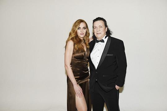 S partnerkou Markétou Jiránkovou