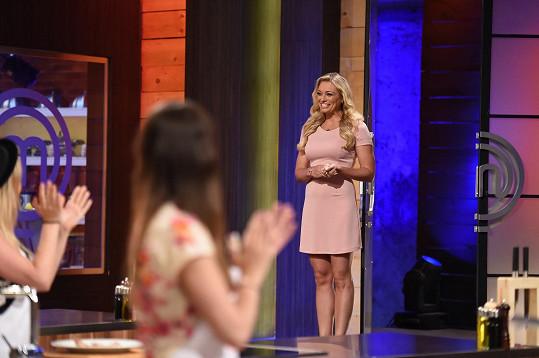 Lucie Borhyová se objevila v show MasterChef Česko.