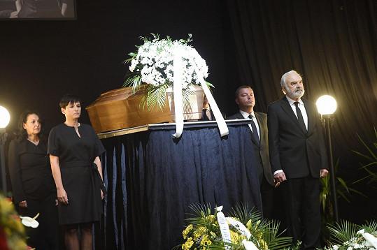 Čestnou střáž drželi i Zdeněk Svěrák nebo Barbora Kodetová
