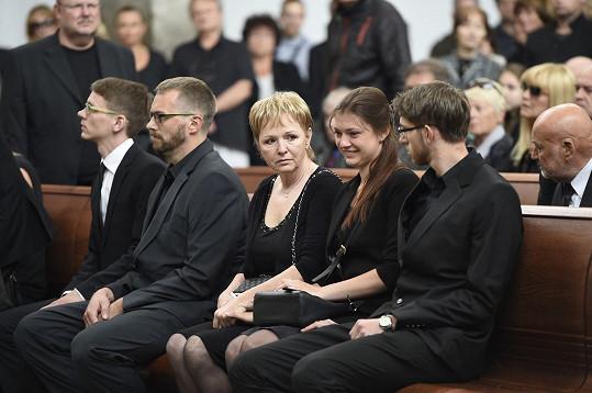 Nejbližší rodina Josefa Mladého