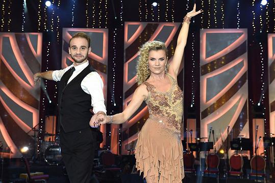 Leona Machálková loni tancovala s Michalem Necpálem