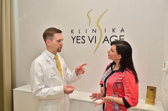 Mezzosopranistka byla ráda, že jí její lékař všechny dotazy zodpověděl.