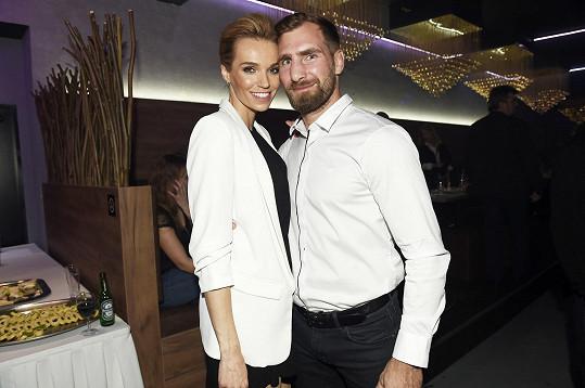 Na párty v Táboře s manželem Andrém