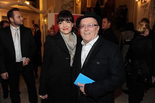 Alice Jandová s Petrem Jandou