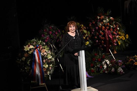 Naďa Konvalinková vzpomínala vesele.