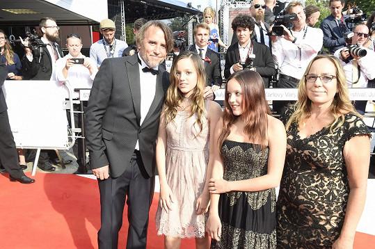 Richard Linklater vzal na festival celou rodinu.