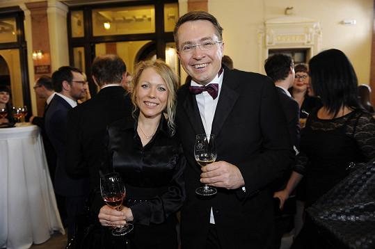 Roman Šmucler s partnerkou Ivou na TýTý