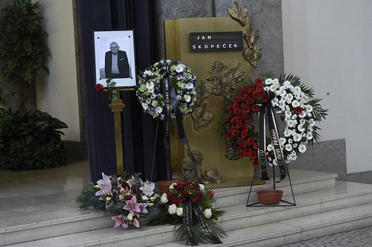 Jan Skopeček zemřel 27. července ve věku 94 let.