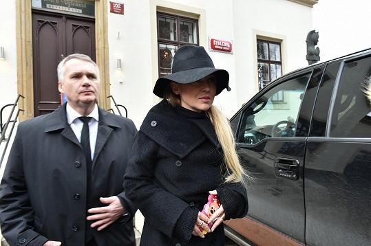 Kateřina Herčíková s manželem