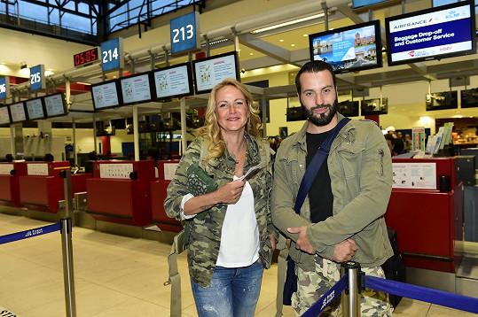 Vendula Pizingerová a Václav Noid Bárta