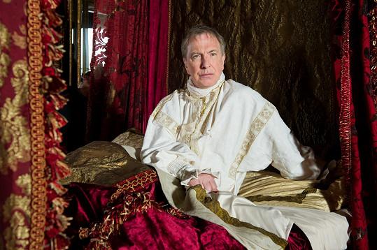 Febiofest 19. března zahájí velká kostýmní podívaná zdoby krále Ludvíka XIV. Králova zahradnice, kde Rickman hraje a kterou zároveň i režíroval.