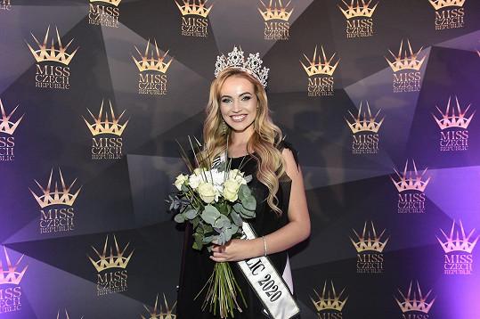 Miss International Czech Republic 2020, dvacetiletá Natálie Kočendová z Karviné, je těhotná.