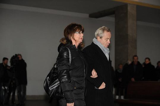 Alexander Hemala dorazil s Marií Tomsovou.