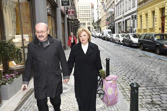 Libuše Švormová s manželem
