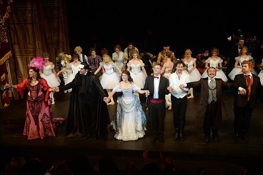 Hvězd Fantoma opery ještě přibude.