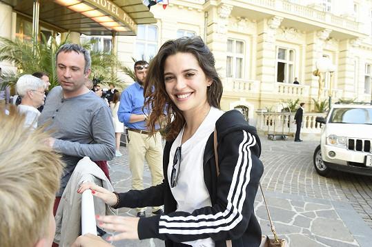 Joana Ribeiro dorazila do Karlových Varů.