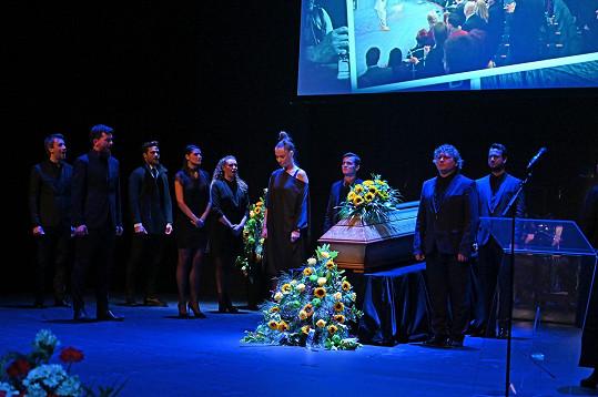 Poslední rozloučení s hercem Martinem Havelkou.