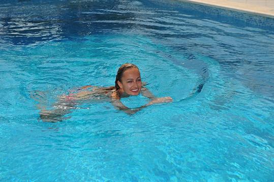 Renata ve vodě...