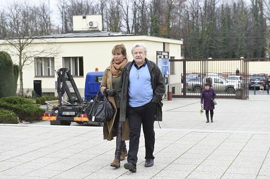 Pavel Sedláček a Helena Rytířová