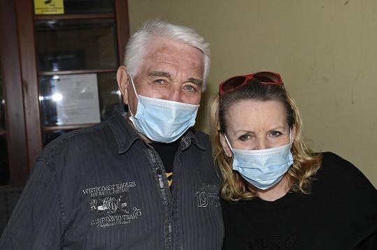 S Jiřím Krampolem