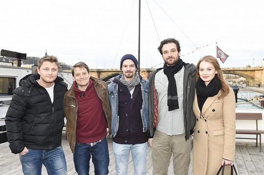 Lucka s kolegy z nováckých projektů