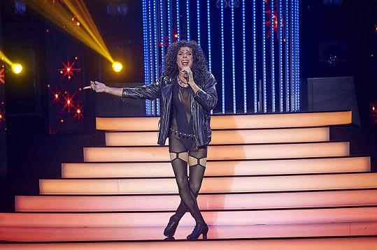 Roman Vojtek to rozjel jako Cher.