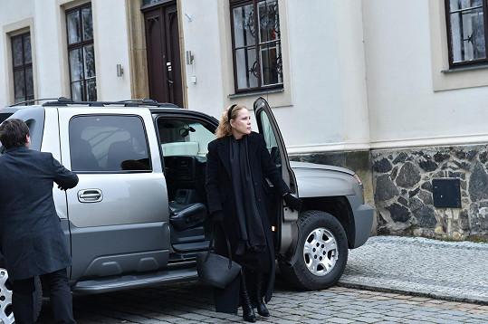 Nechyběla ani druhá Hapkova exmanželka Ulla Keslerová...
