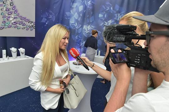 O nedávném extempore se blogerka rozpovídala v rozhovoru pro Super.cz.