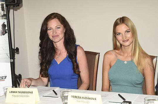 Potkali jsme se na tiskové konferenci Top Fashion Weeku, jehož tváří je modelka Tereza Hudáková.