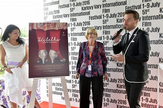 Leoš Mareš moderoval udělení ceny za filmový plakát.