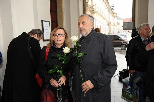 Nechyběli ani skladatel Jan Vodňanský s manželkou.