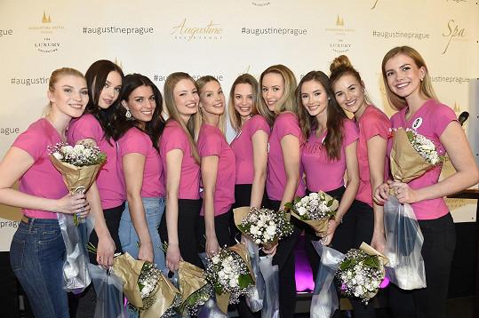 Desítka finalistek České Miss