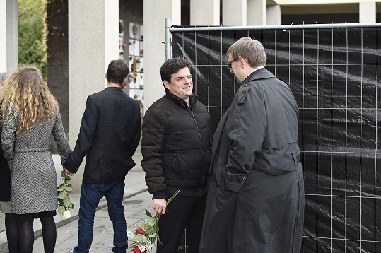 Filip Rajmont s Jiřím Hromadou