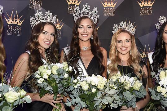 V Miss Czech Republic skončila na třetím místě.