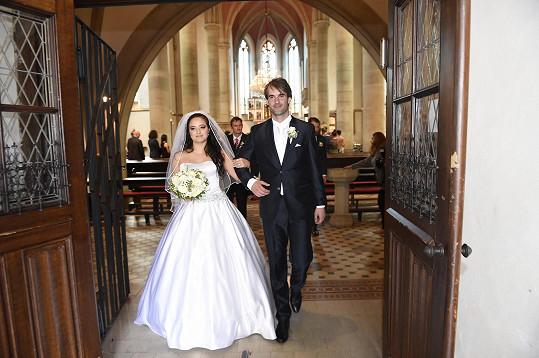 Brali se v kostele sv. Prokopa.