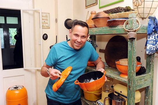 Pro Vítka je vaření radost.