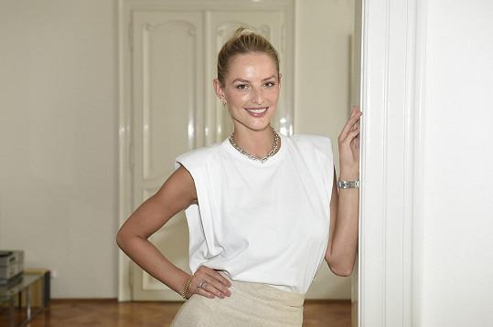 Michaela Kociánová se snaží skloubit hvězdnou kariéru modelky i vztah.