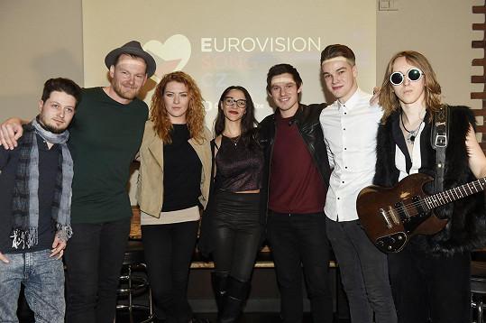 Eva Burešová je jednou z účastnic Eurovision song CZ.