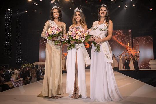 V České Miss 2017 skončila Iva druhá.