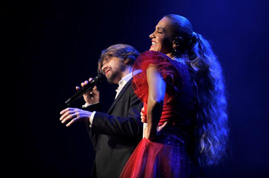 Jedním z hvězdných hostů byl zpěvaččin oblíbenec Dan Bárta.