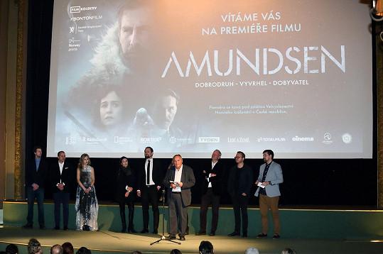 Pražská premiéra filmu v kině Lucerna