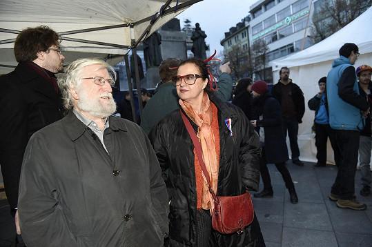 Ivan Havel s manželkou