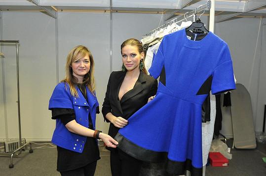 Andrea obdivovala modely Kláry Nademlýnské.