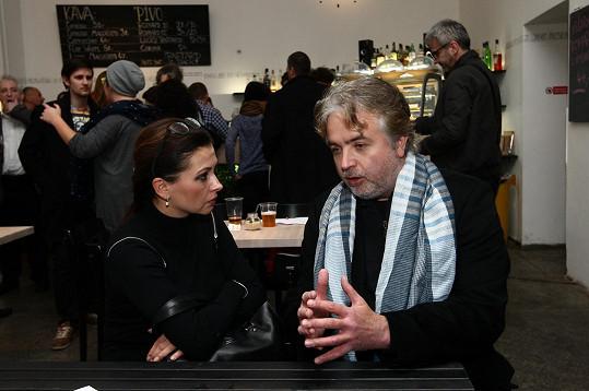 Dana Morávková strávila večer v rozhovoru s Ondřejem Kepkou.